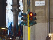 イタリアの信号
