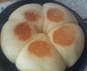ホットケーキミックスでパン