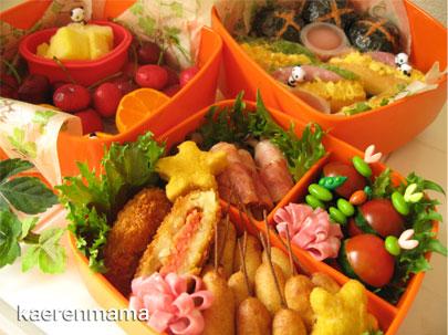 親子遠足のお弁当2009 短時間でかわいいキャラ弁当  お弁当おかず☆アイディアまとめ , NAVER まとめ