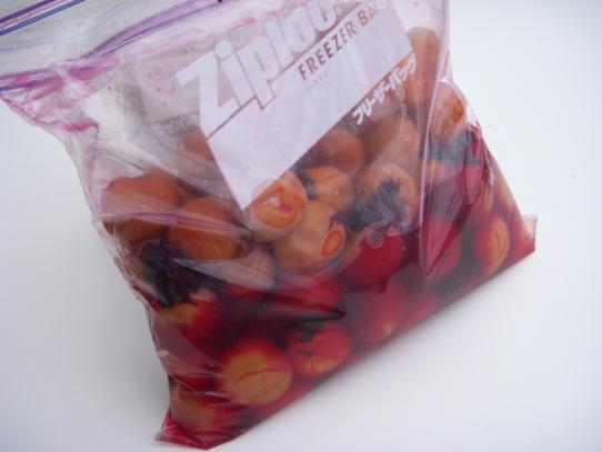 キヨミのガーデニングブログ-簡単・減塩梅干の画像