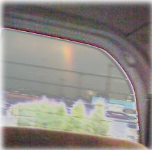 オキガル おきらく きmama日記-虹強調