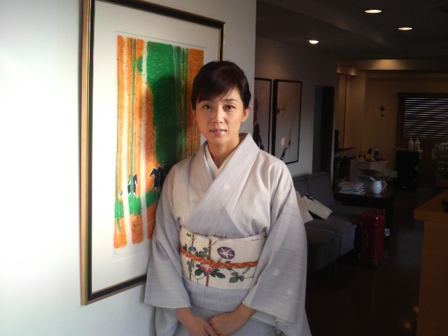和装が美しい現在の藤吉久美子
