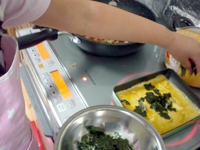 オリジナルレシピ作り「一汁三菜」3日目