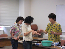 留学カウンセラーのぼちぼちブログ-アロマセミナー1