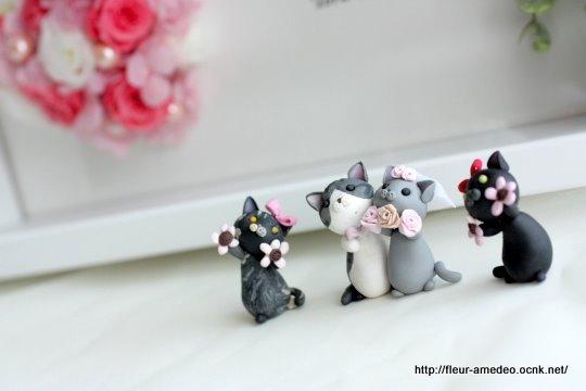 花とcafeとネコたちと・・・/プリザーブドフラワー cafe de la fleur   Amedeo のブログ-Wedding