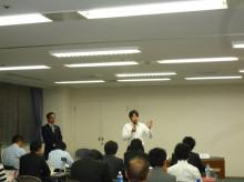 龍馬プロジェクトのブログ-山田さん開会宣言