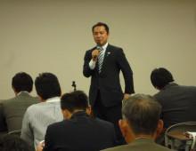 龍馬プロジェクトのブログ-英敬さん司会
