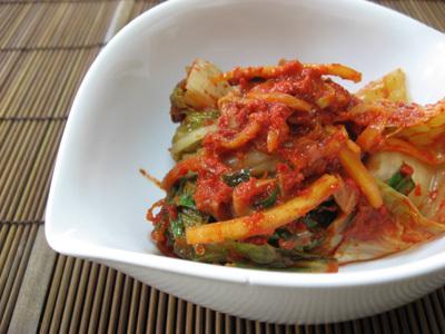 韓国料理サランヘヨ♪ I Love Korean Food-白菜キムチ