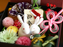 Plumerry(プルメリー)プリザーブドフラワースクール (千葉・浦安校)-花重箱