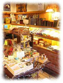 大阪の雑貨屋さん*AJUKAJU*物語に出てくるような雑貨屋さんへの道-取り直したアメリカン雑貨コーナー