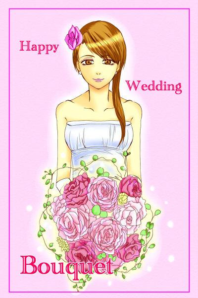 きれいなお花で素敵なひとときに♪ピンクブーケに魅入られて