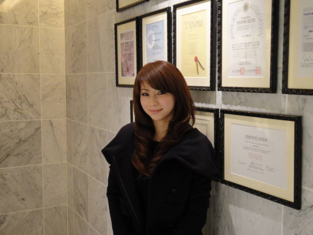 水谷雅子の画像「診察に♪」
