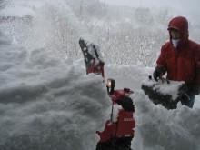 $totokoのスローライフ-北側の雪削り1