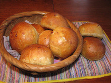 $totokoのスローライフ-干し柿入りパン