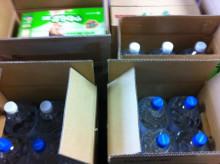 お客さまは、派遣スタッフさま-物資 水