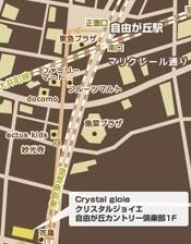 クリスタルジョイエ 地図