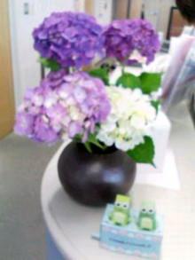お客さまは、派遣スタッフさま-紫陽花