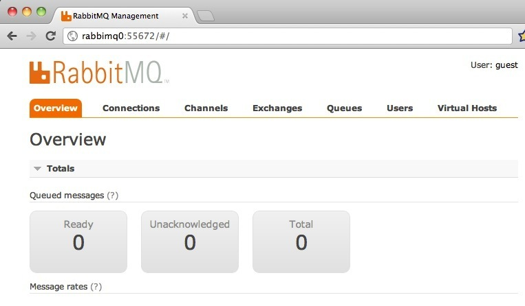 RabbitMQ Management Console