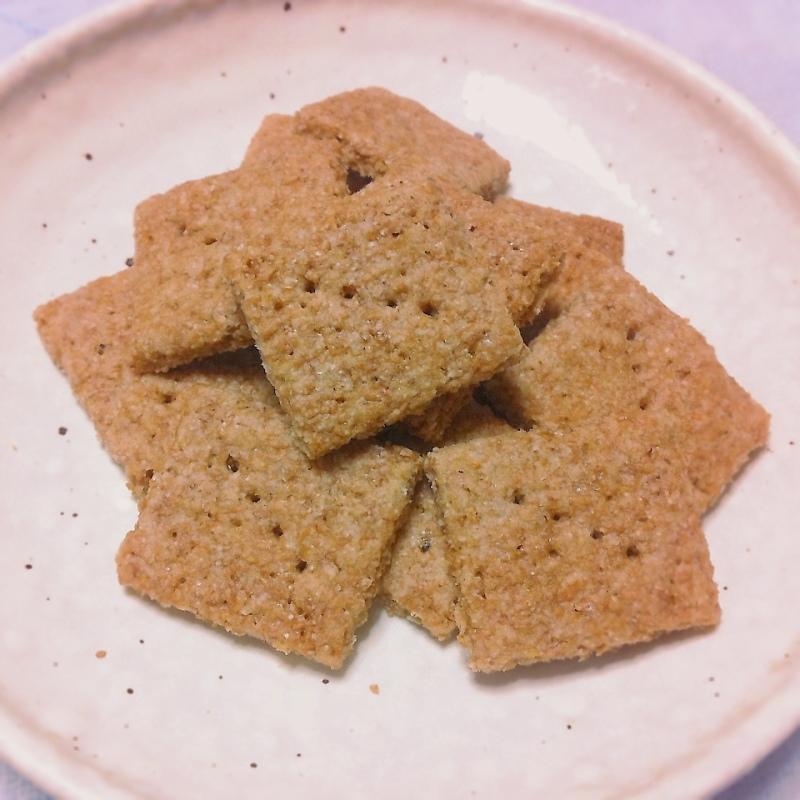自家挽き全粒粉クッキー