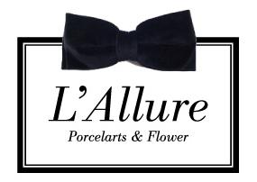 $Salon de L'Allure  名古屋  ポーセラーツ & アーティフィシャルフラワー・シルクフラワー-ロゴ