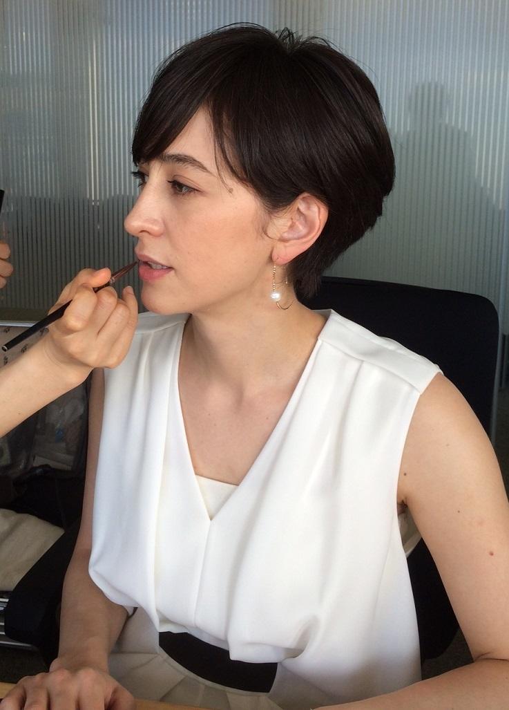 滝川クリステル髪型 日本生命