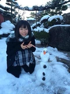 NMB48の画像「内木志♪雪だるまつくーろーのこころ」