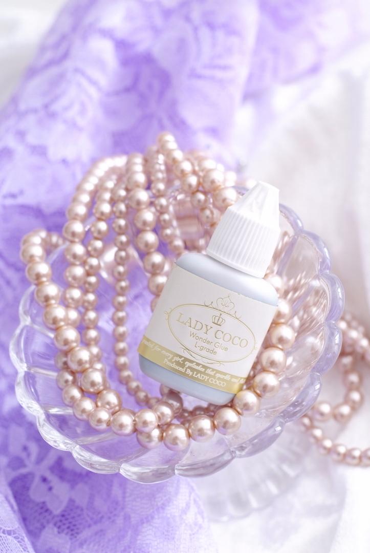 LADYCOCO Wonder Glue mini トライアルセットマツエク,商材,グルー,まつげエクステ,サロン
