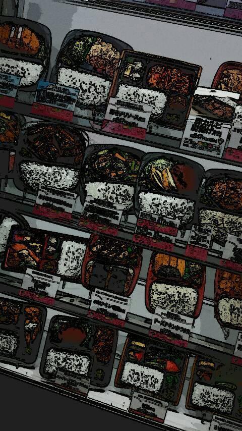 森川智之の画像「ご褒美はいつものお弁当屋さんで贅沢にエビフライと生姜焼きのお弁当♪」