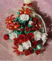 樹脂粘土で薔薇の花を手作り いろんな物shop