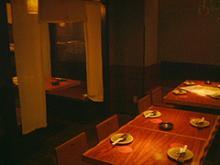「古家」テーブル席