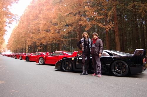 Ferrari F40 Meet In Japan Pics 6speedonline Porsche