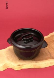 雲井窯・黒楽御飯鍋