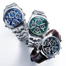 漆塗りの高級腕時計