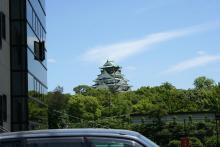 大阪城全身