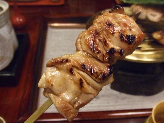 うかい特選鶏肉焼き上がり画像