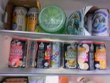 冷蔵庫の酒
