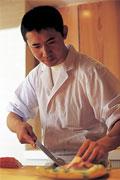 若き料理長、渡邊守氏