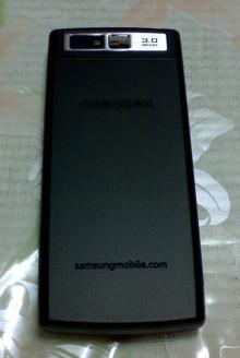 SGH-i550W背面