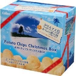 「ポテトチップス クリスマスBOX」