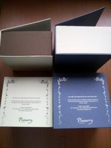 Plumerry(プルメリー)プリザーブドフラワースクール (千葉・浦安校)-BOX 化粧箱