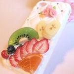フルーツとバラでiPhone4・4s兼用カバー